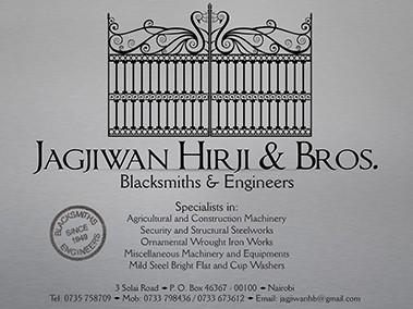 Jagjiwan Hirji & Bros. Ltd.